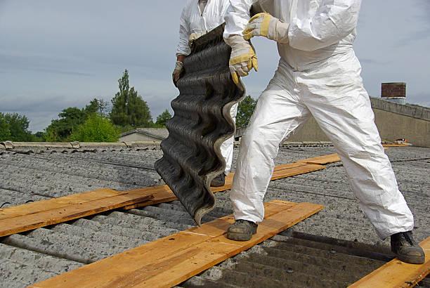 asbestos roof, demolition